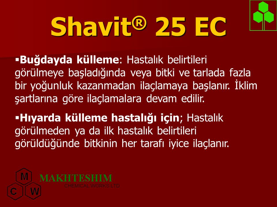 Shavit® 25 EC