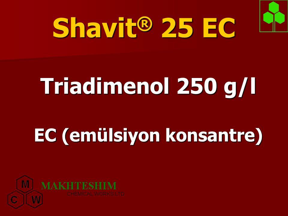 Triadimenol 250 g/l EC (emülsiyon konsantre)