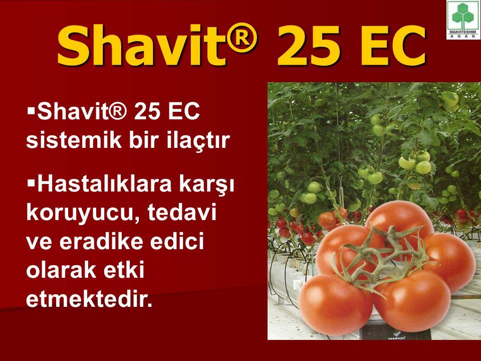 Shavit® 25 EC Shavit® 25 EC sistemik bir ilaçtır