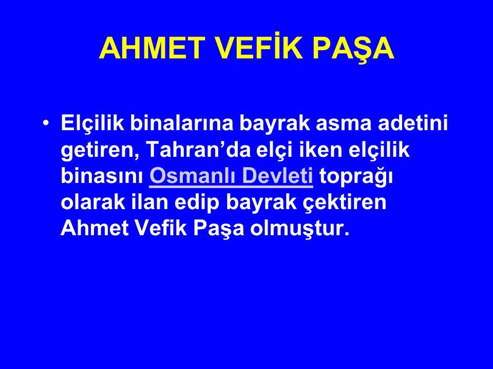 AHMET VEFİK PAŞA