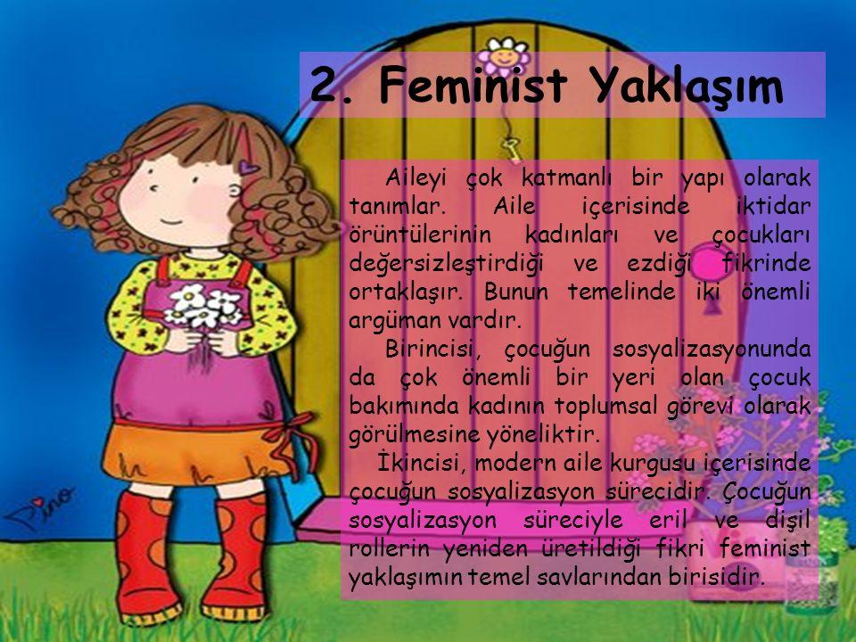 2. Feminist Yaklaşım