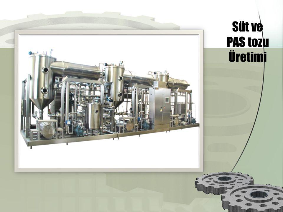 Süt ve PAS tozu Üretimi