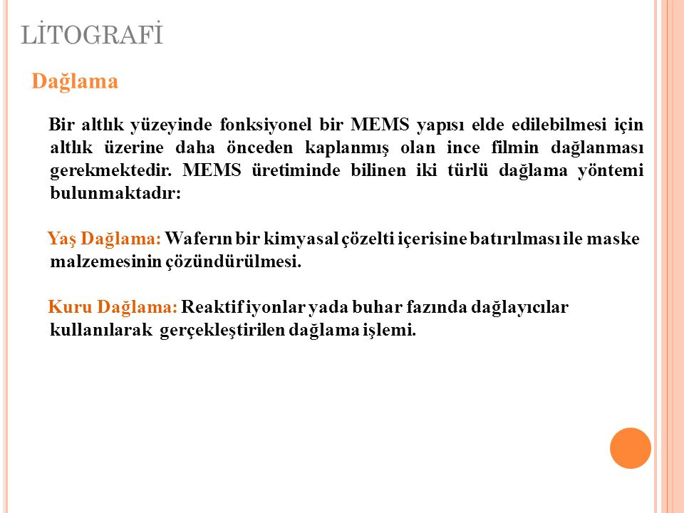 LİTOGRAFİ Dağlama.