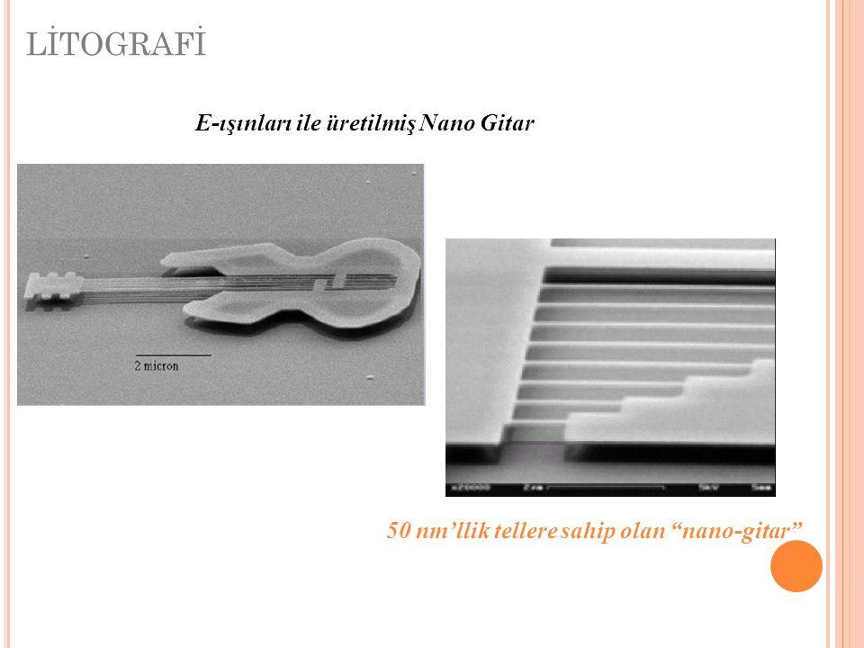 LİTOGRAFİ E-ışınları ile üretilmiş Nano Gitar