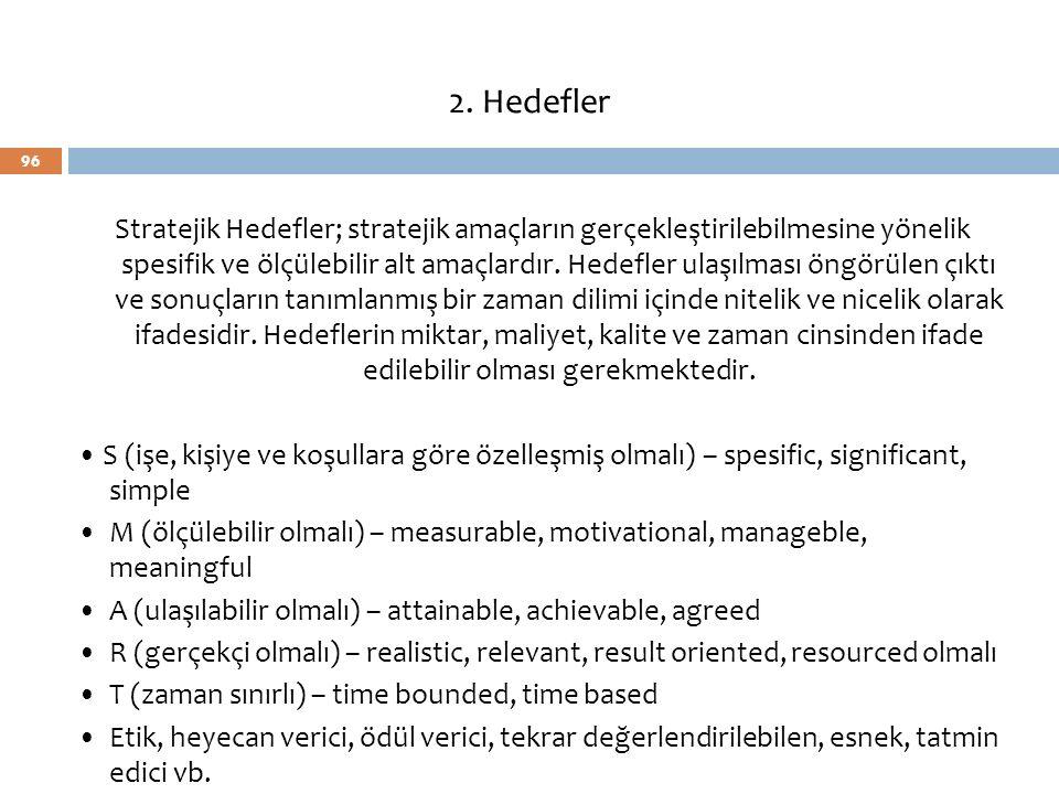2. Hedefler