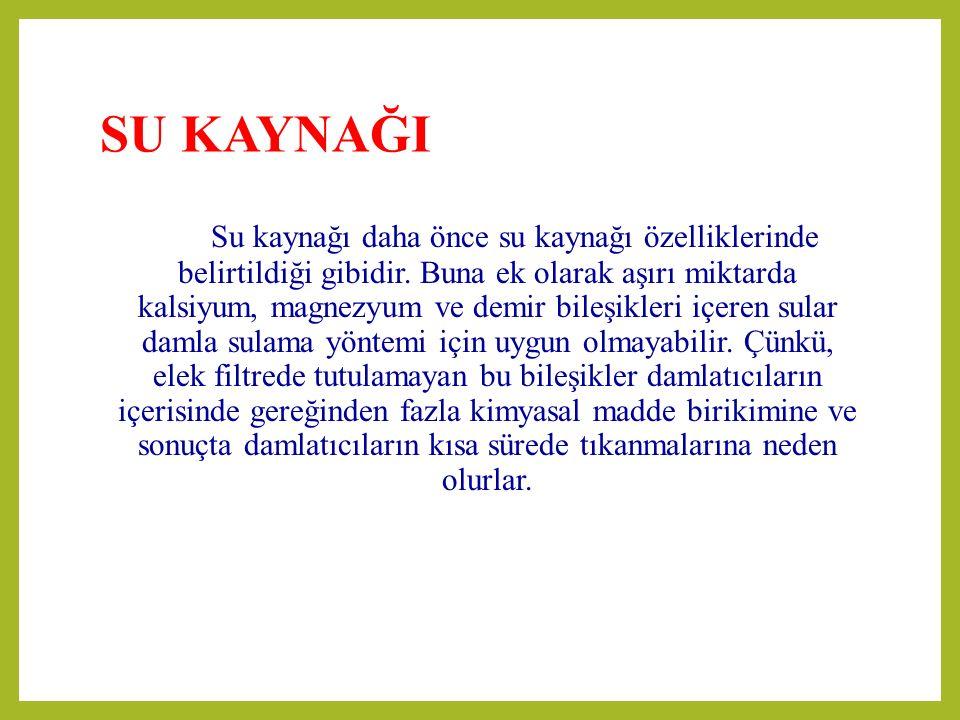 SU KAYNAĞI