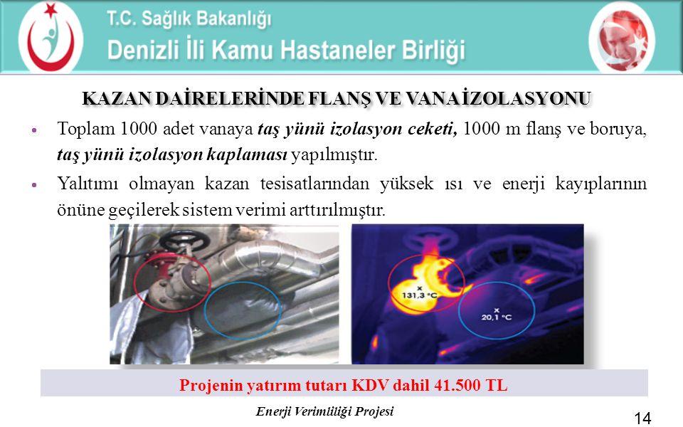 KAZAN DAİRELERİNDE FLANŞ VE VANA İZOLASYONU