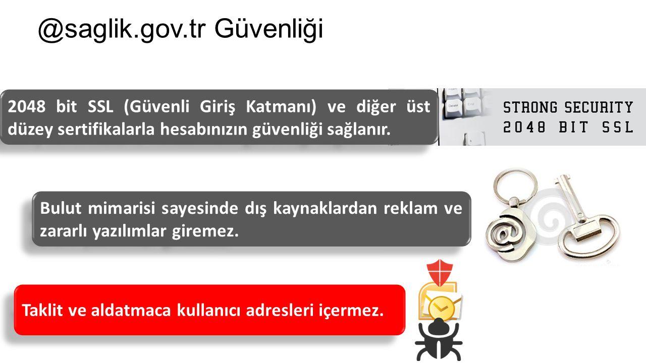 @saglik.gov.tr Güvenliği