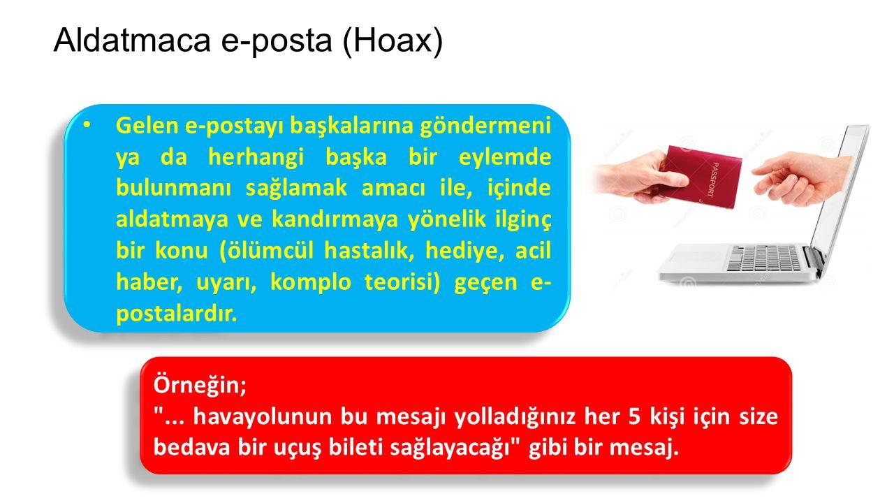 Aldatmaca e-posta (Hoax)