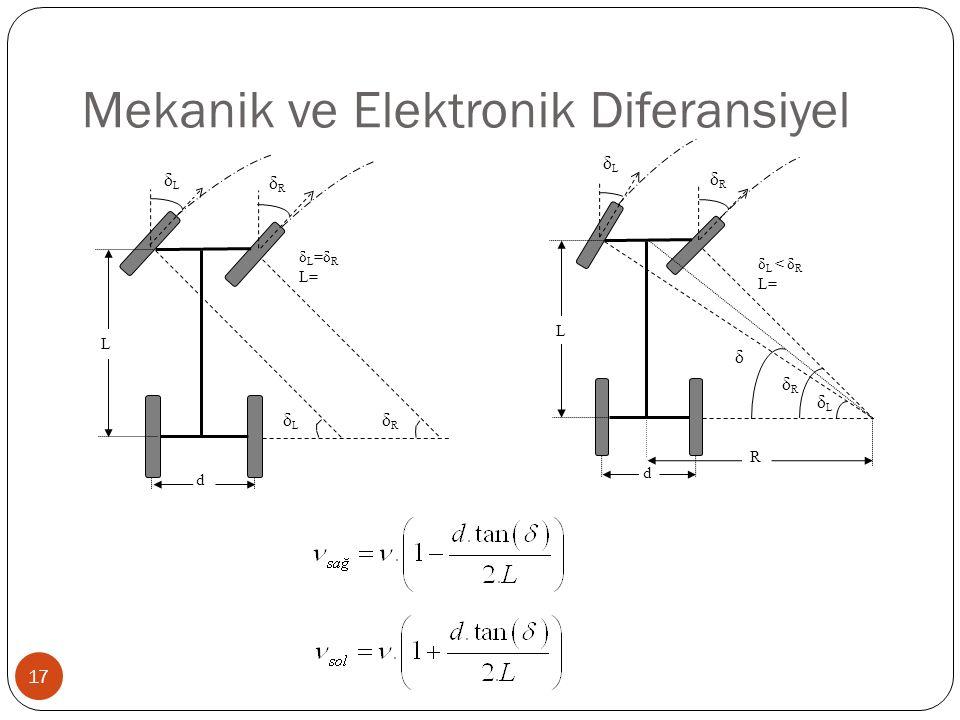Mekanik ve Elektronik Diferansiyel