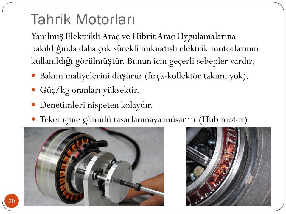 Tahrik Motorları
