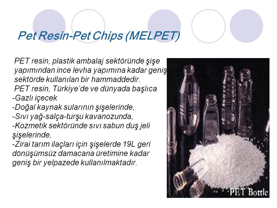Pet Resin-Pet Chips (MELPET)