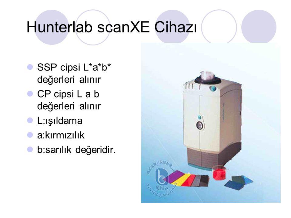 Hunterlab scanXE Cihazı