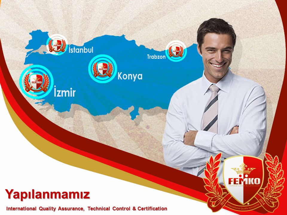 Yapılanmamız International Quality Assurance, Technical Control & Certification