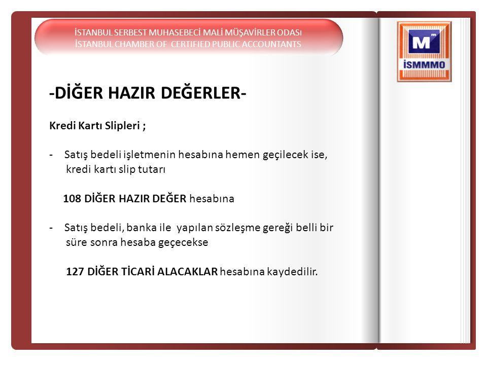 -DİĞER HAZIR DEĞERLER-
