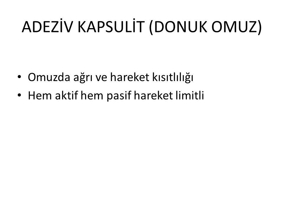 ADEZİV KAPSULİT (DONUK OMUZ)