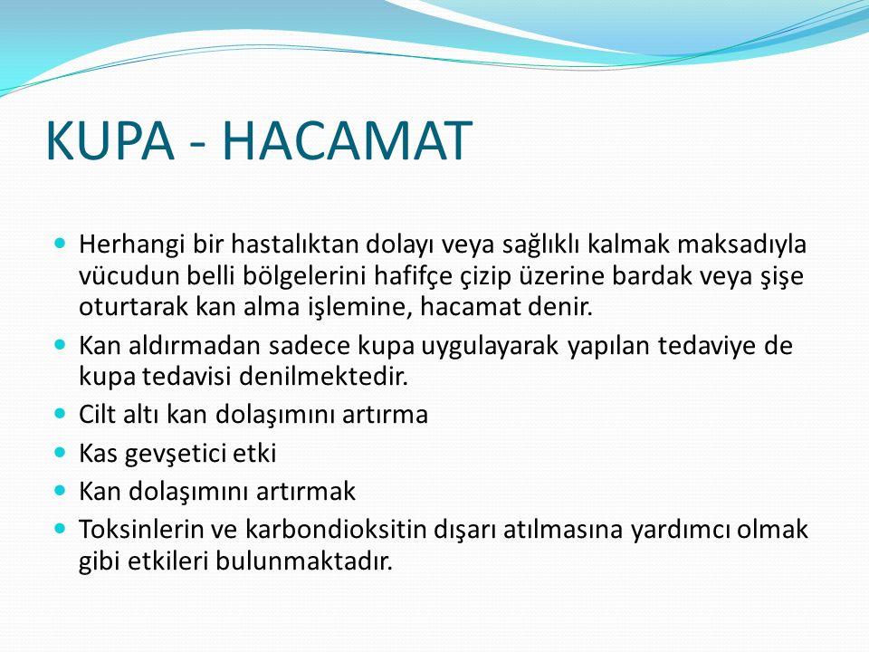 KUPA - HACAMAT
