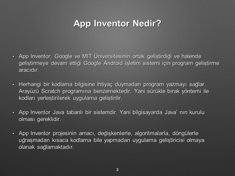 App Inventor Nedir