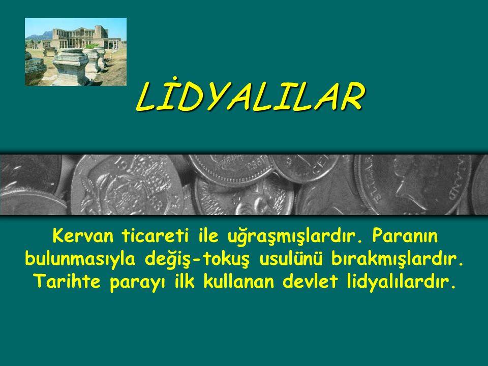 LİDYALILAR
