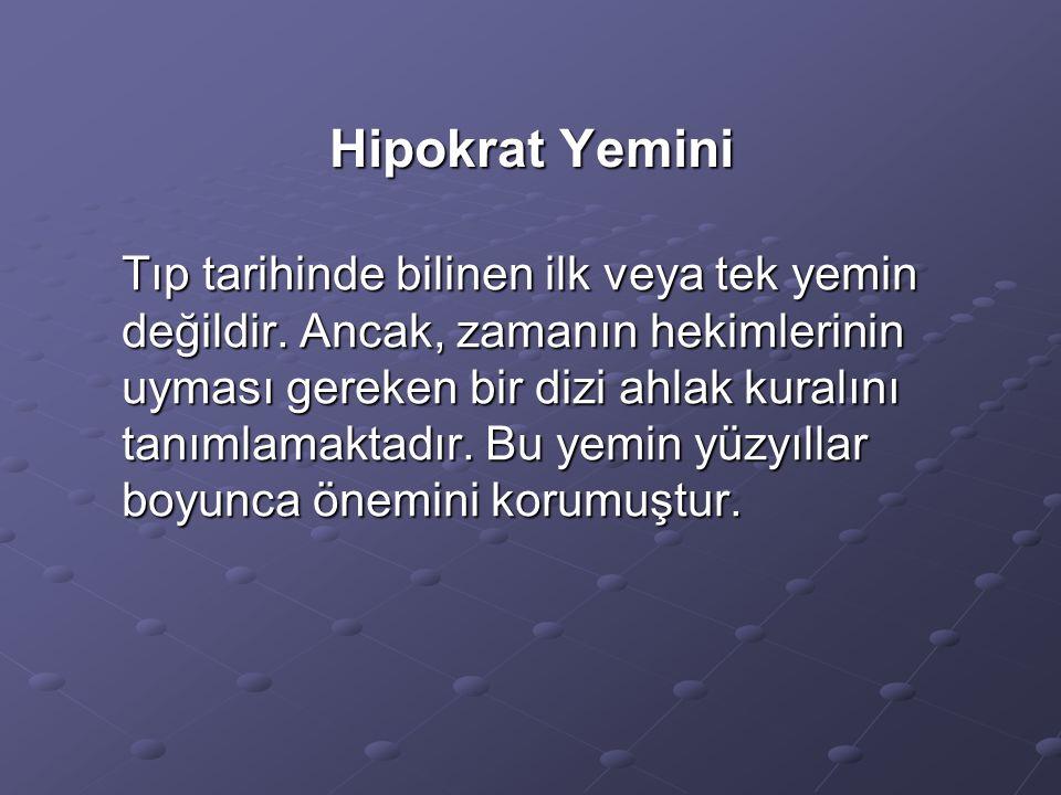 Hipokrat Yemini