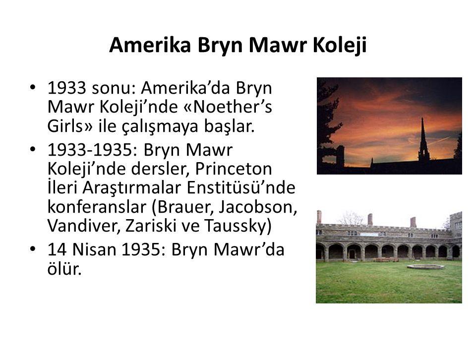 Amerika Bryn Mawr Koleji