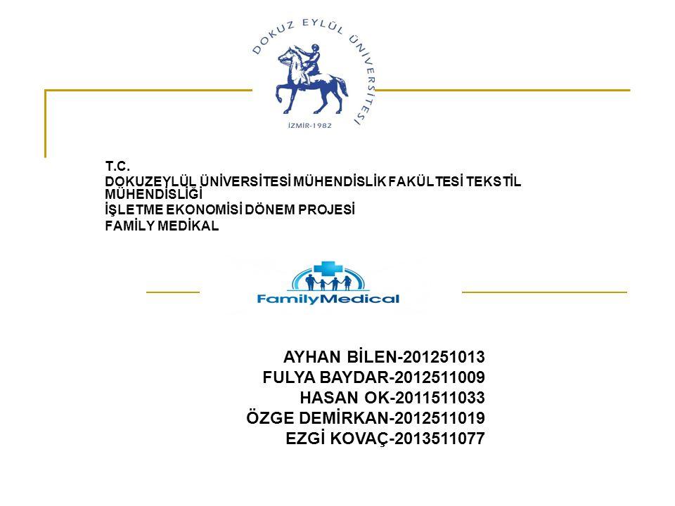 AYHAN BİLEN-201251013 FULYA BAYDAR-2012511009 HASAN OK-2011511033