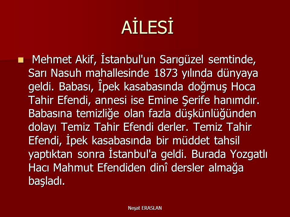 AİLESİ