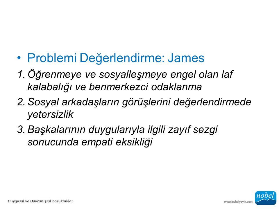 Problemi Değerlendirme: James