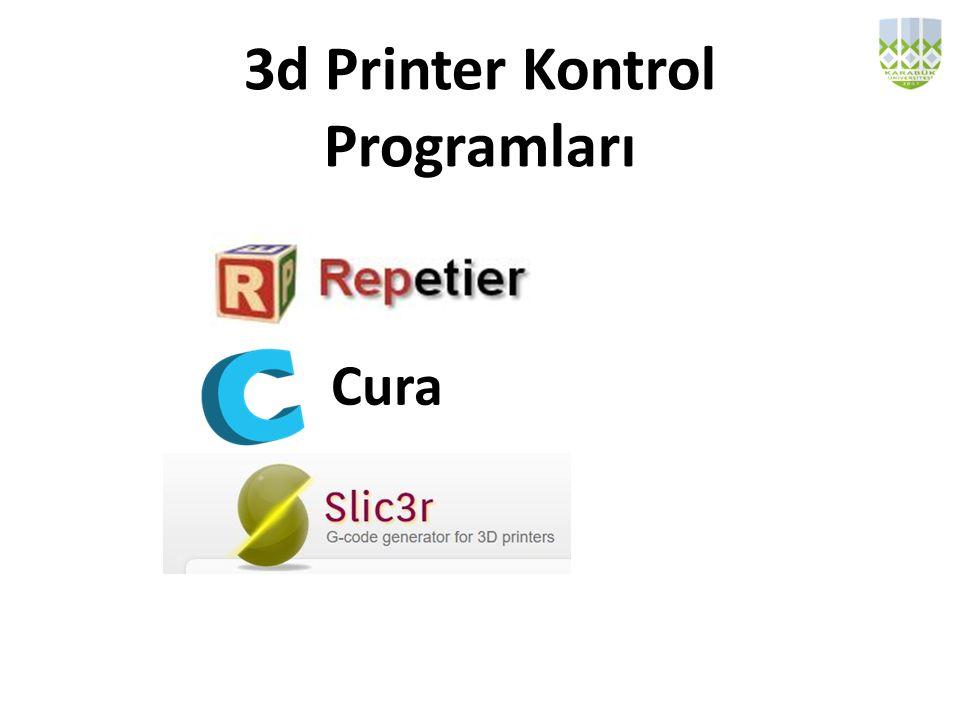 3d Printer Kontrol Programları
