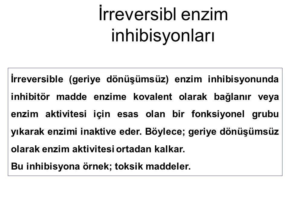 İrreversibl enzim inhibisyonları