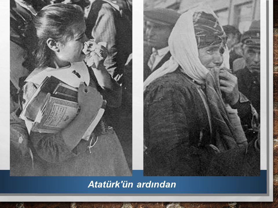 Atatürk ün ardından