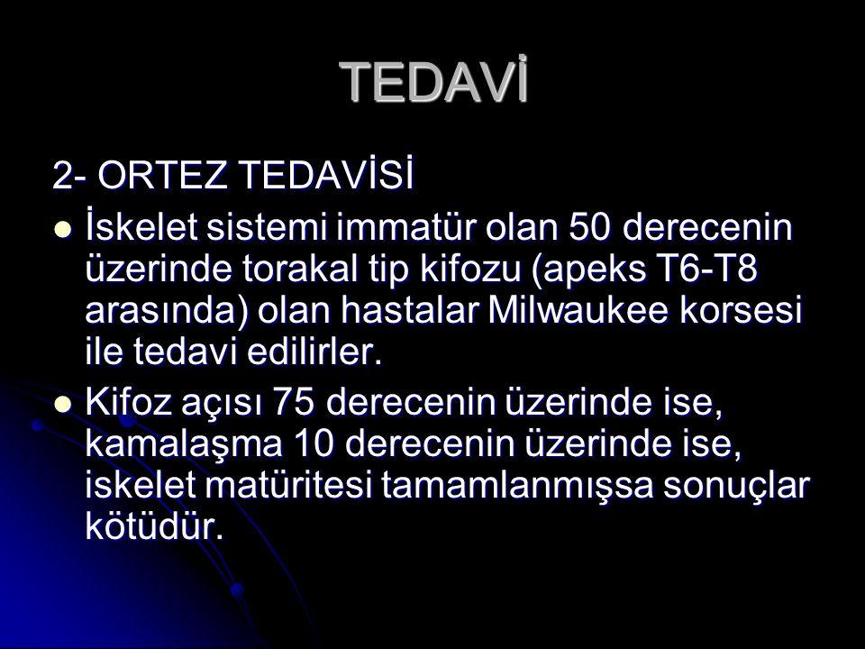 TEDAVİ 2- ORTEZ TEDAVİSİ