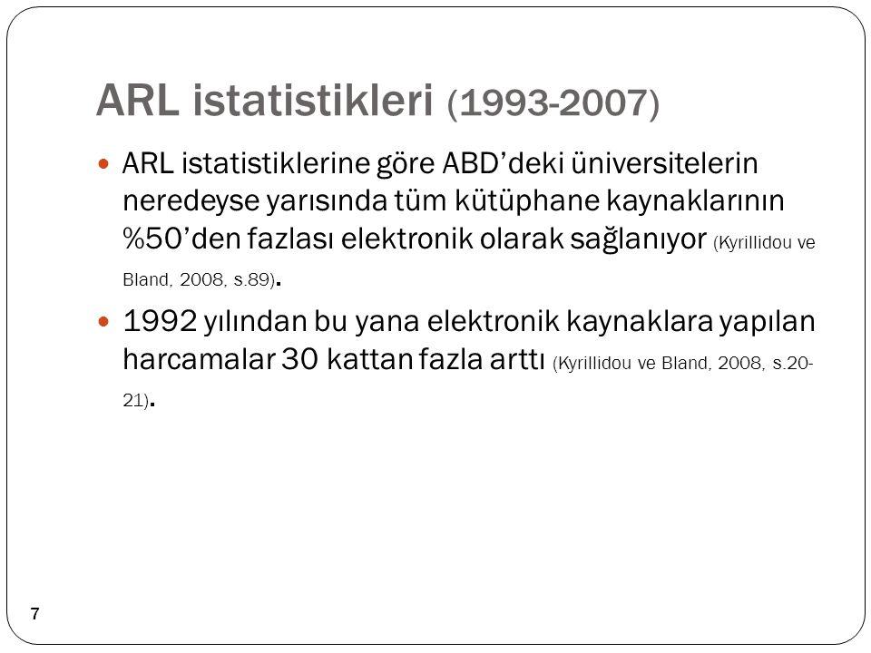 ARL istatistikleri (1993-2007)