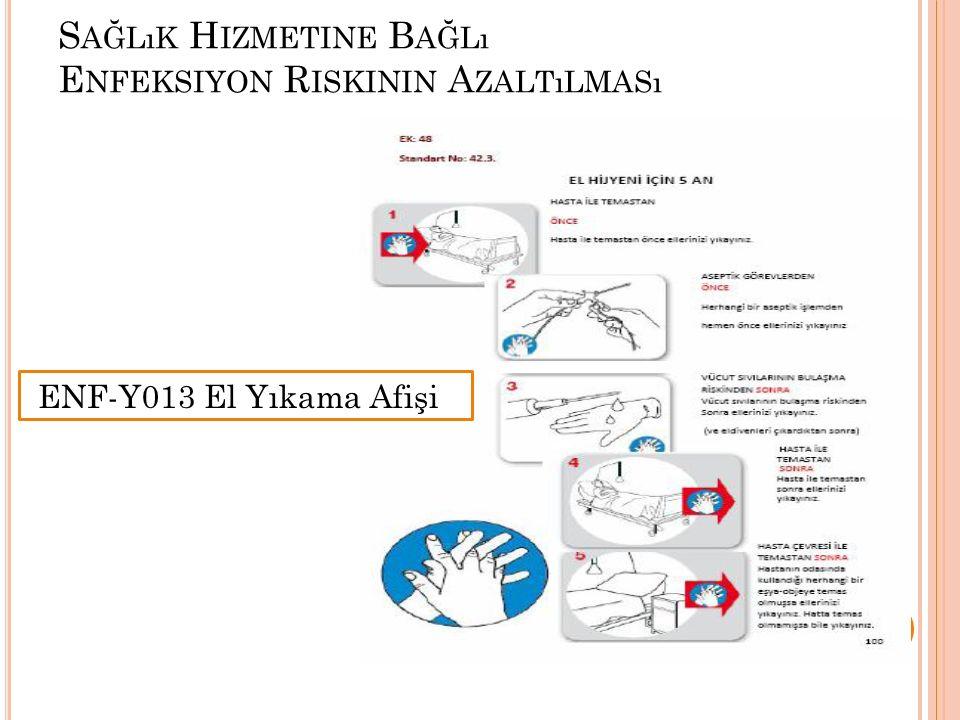 Sağlık Hizmetine Bağlı Enfeksiyon Riskinin Azaltılması