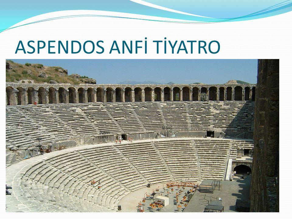 ASPENDOS ANFİ TİYATRO