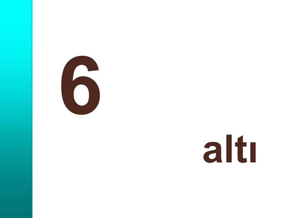 6 altı