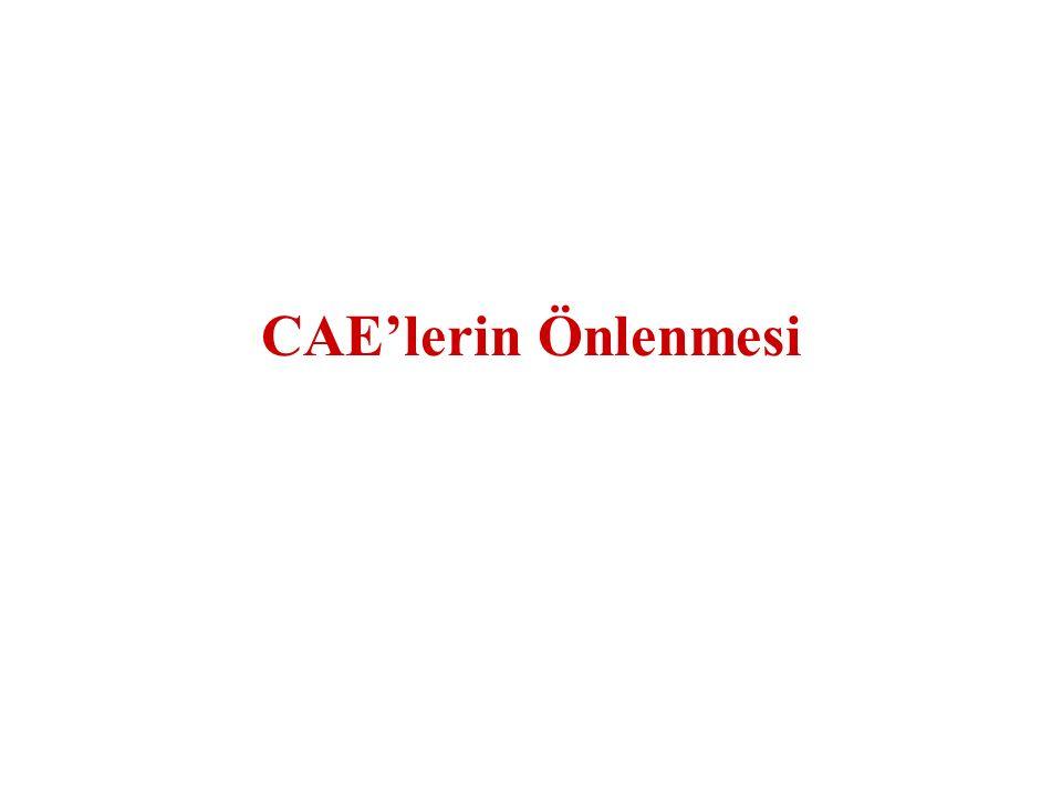 CAE'lerin Önlenmesi
