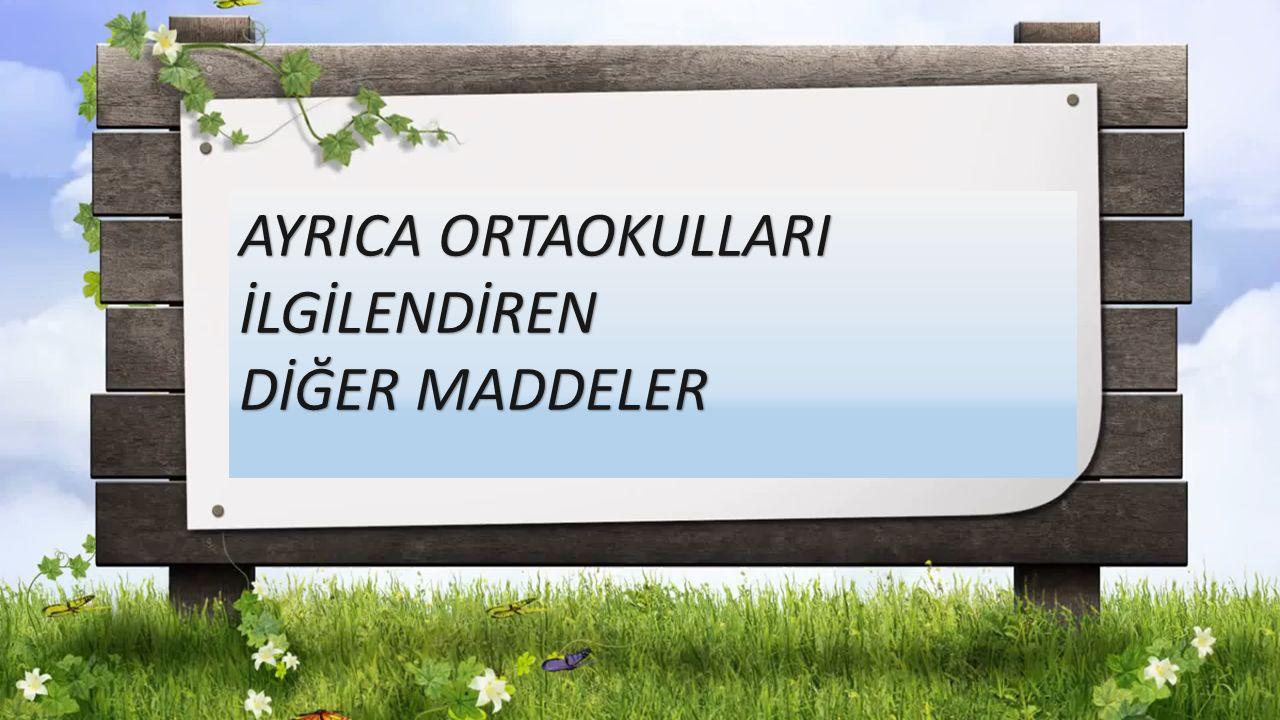 AYRICA ORTAOKULLARI İLGİLENDİREN