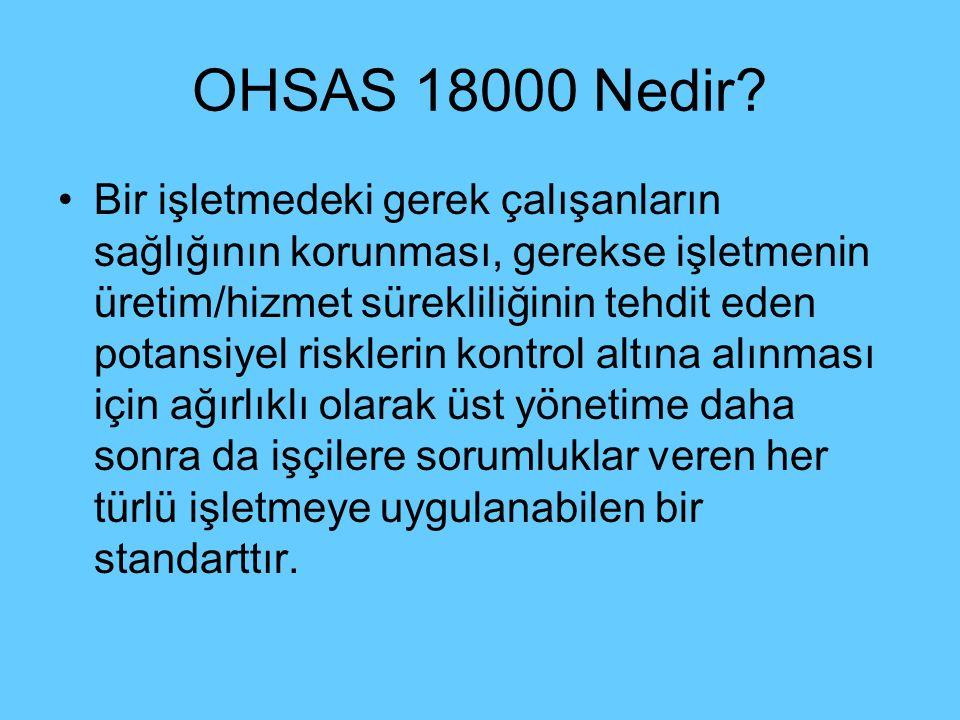 OHSAS 18000 Nedir