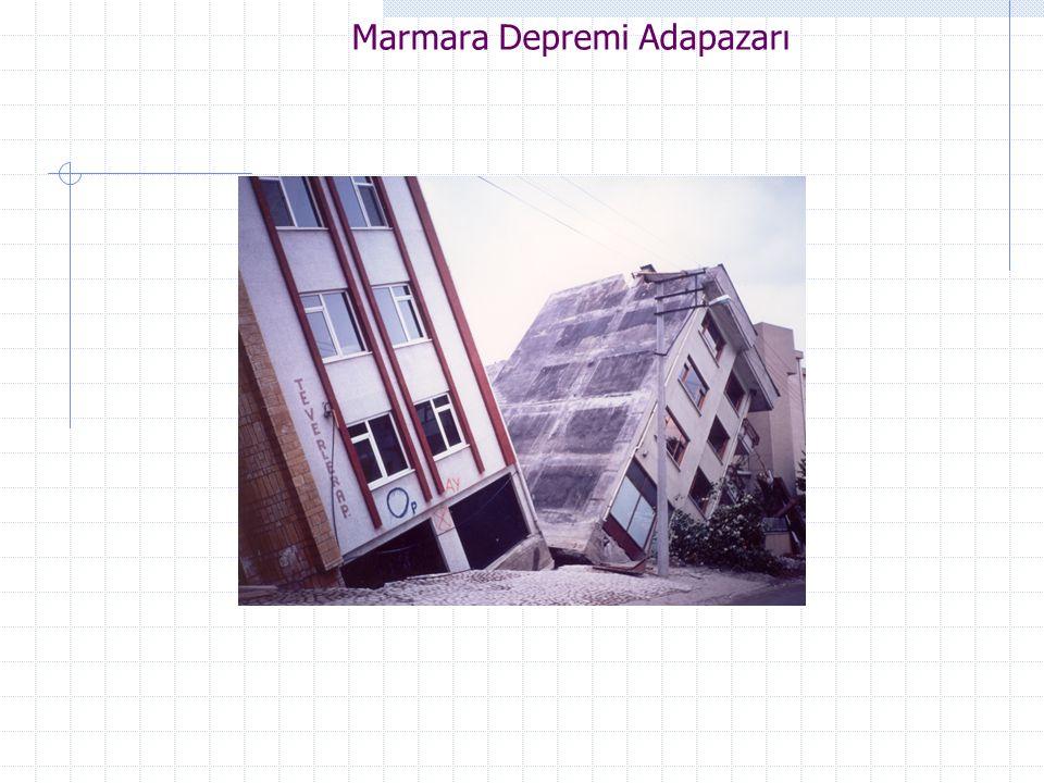 Marmara Depremi Adapazarı