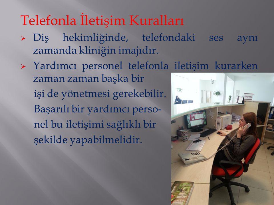 Telefonla İletişim Kuralları