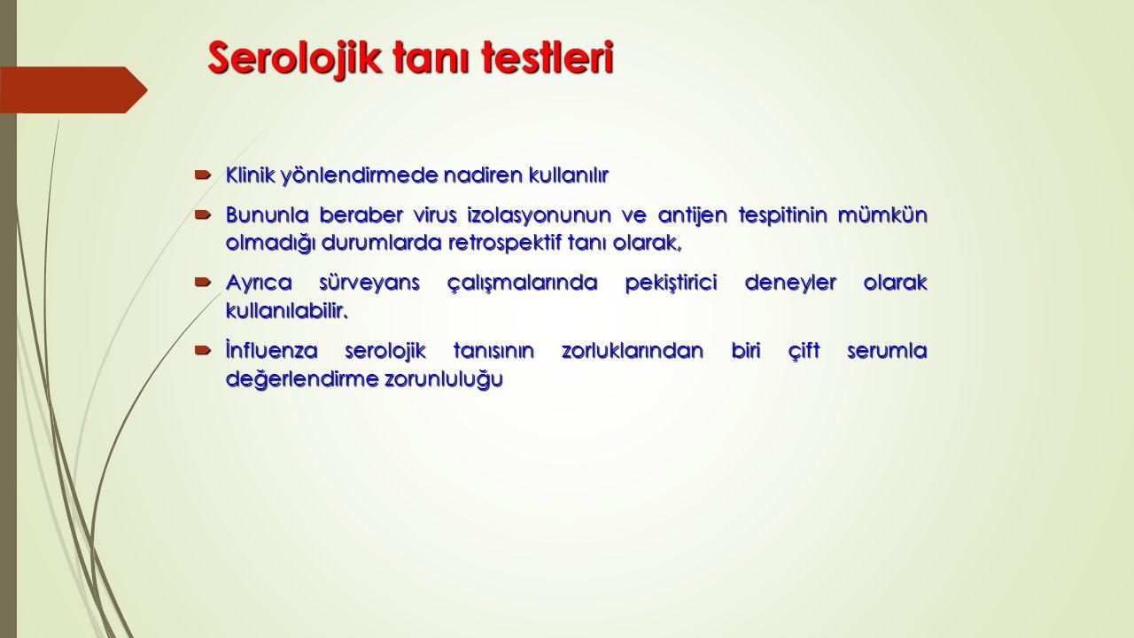 Serolojik tanı testleri