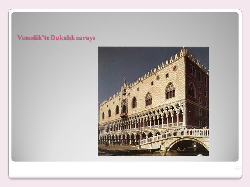 Venedik te Dukalık sarayı