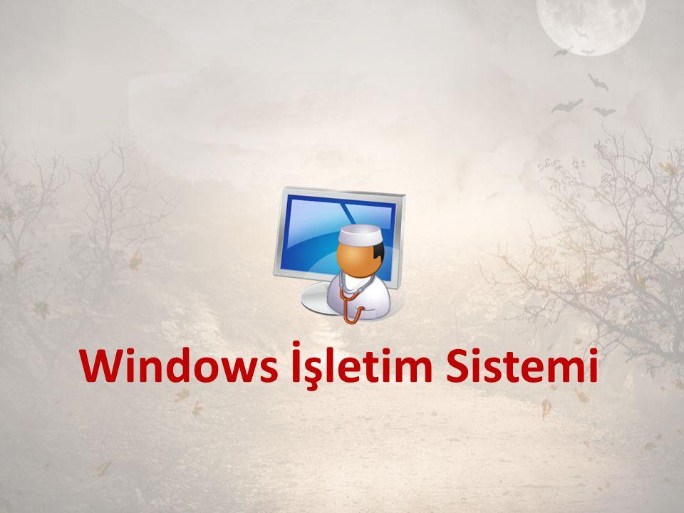 Windows İşletim Sistemi