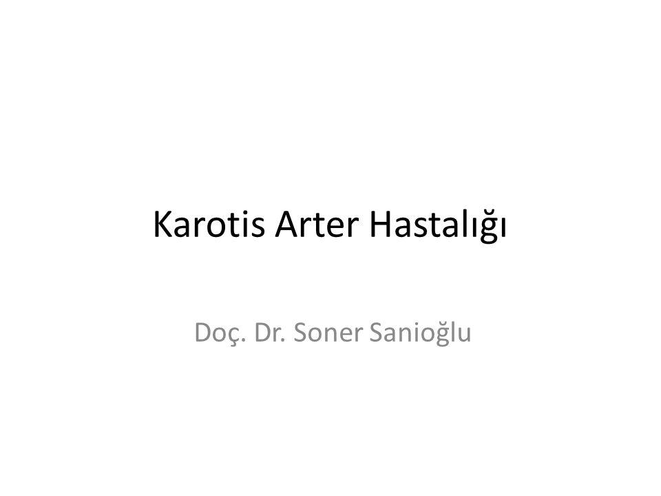 Karotis Arter Hastalığı