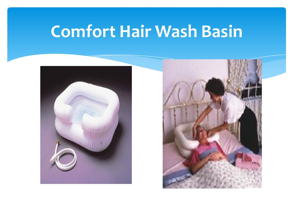Comfort Hair Wash Basin