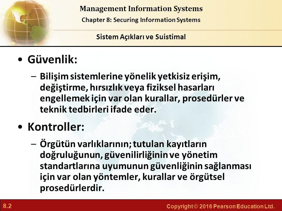 Sistem Açıkları ve Suistimal