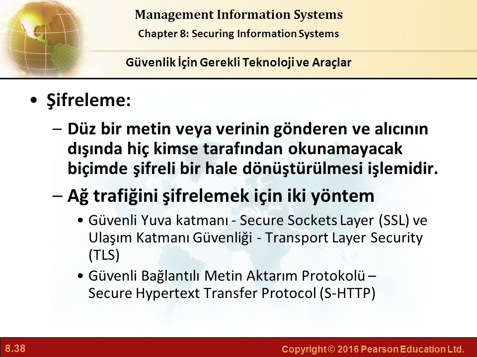 Güvenlik İçin Gerekli Teknoloji ve Araçlar