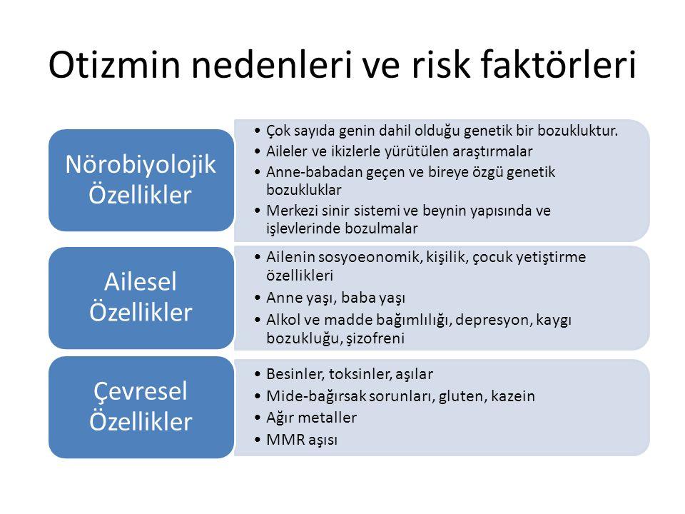 Otizmin nedenleri ve risk faktörleri