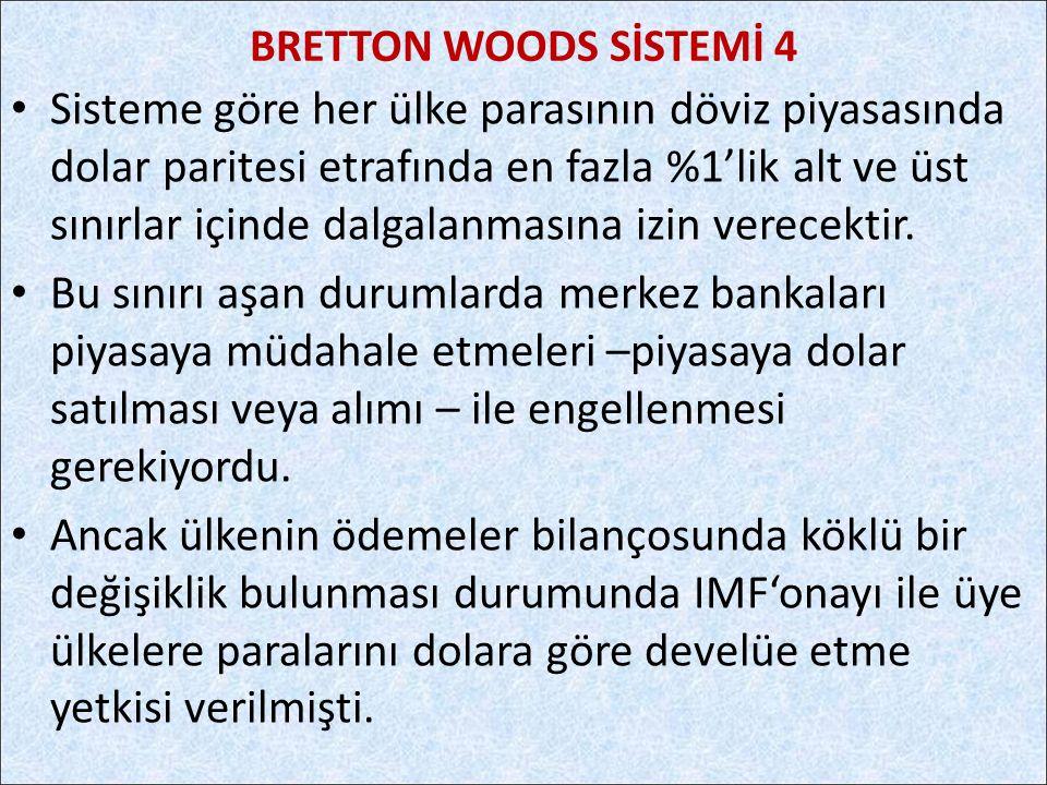 BRETTON WOODS SİSTEMİ 4
